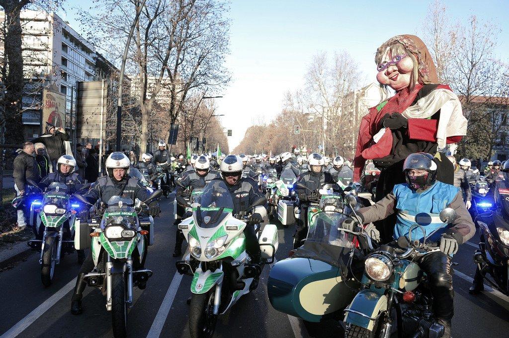 Befana Motociclisti Milano
