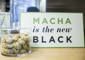 Matcha is the new black