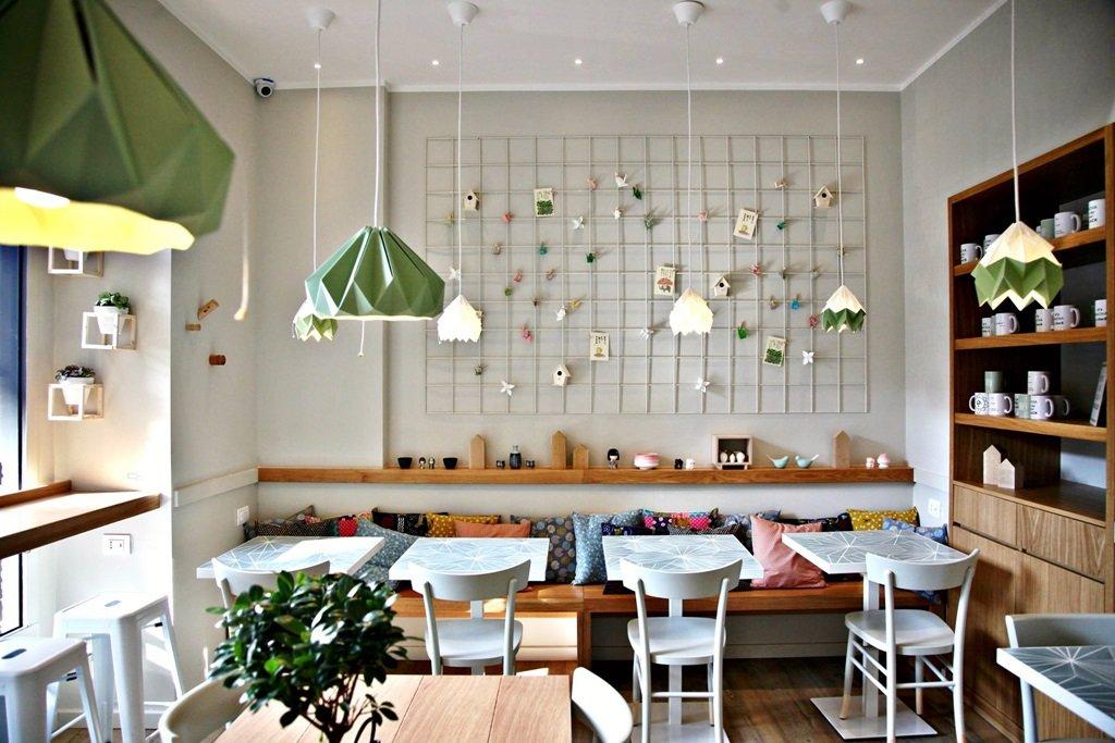 macha cafe milano green