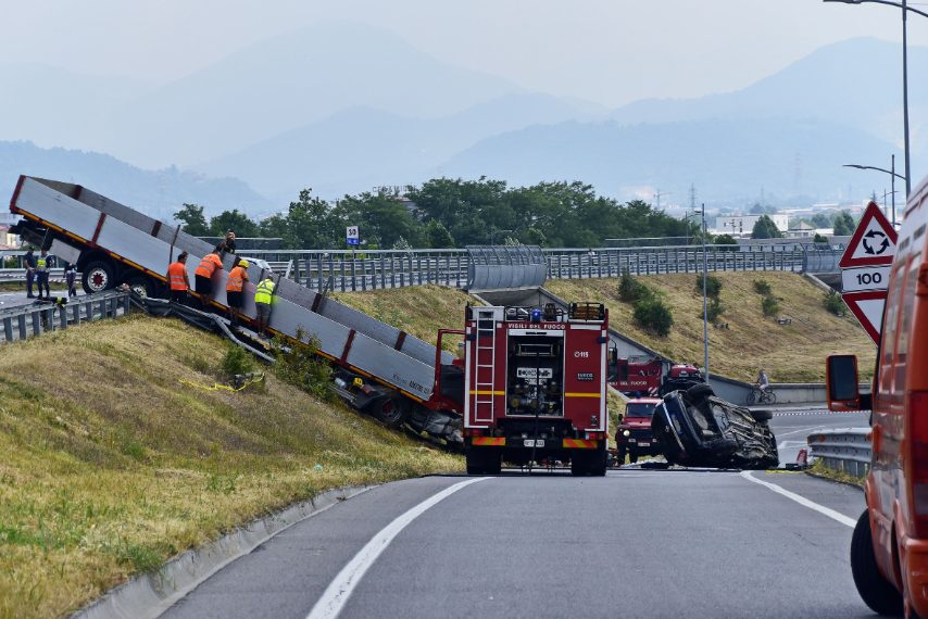 incidente Bergamo