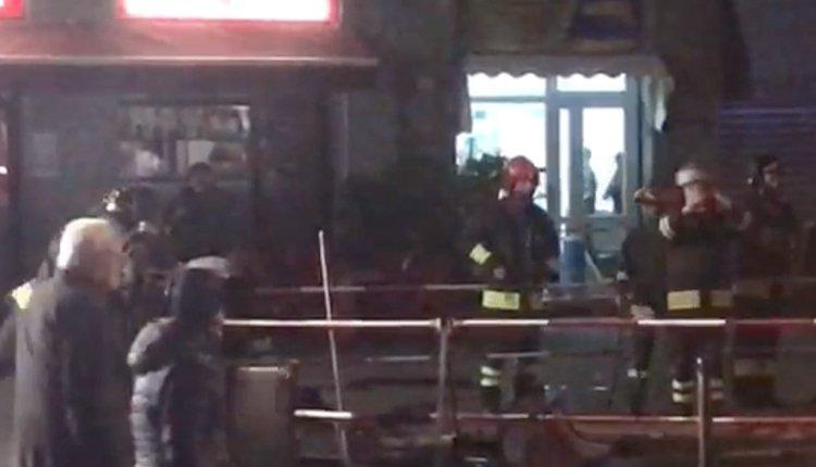Fuga di gas piazza Tirana