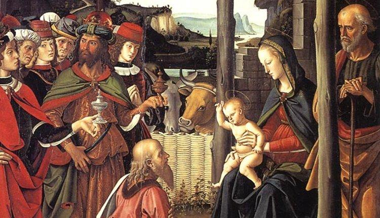 adorazione Magi Perugino