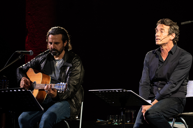 Alessio Boni e Omar Pedrini