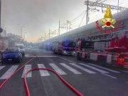 Incendio via Sammartini