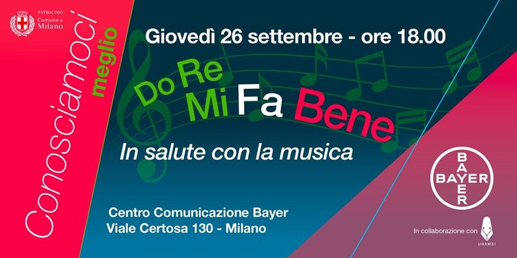 Do Re Mi Fa Bene Bayer Incontro In salute con la musica