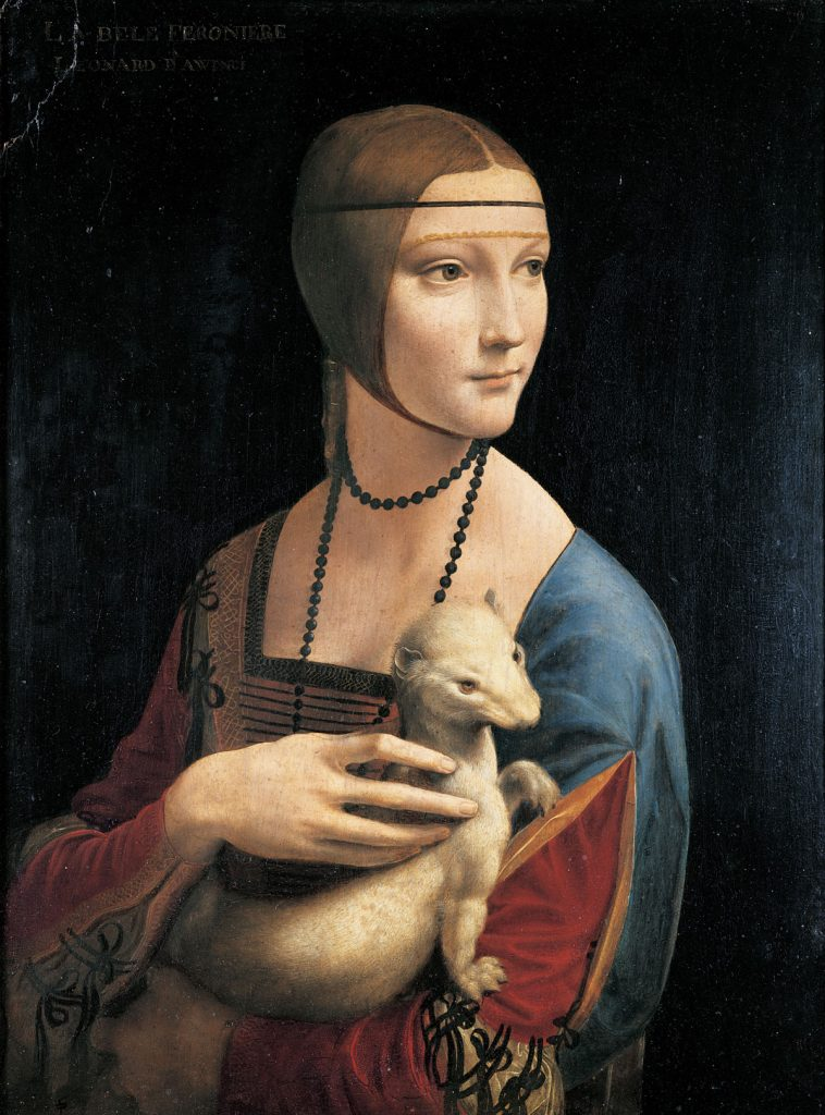 Leonardo Dama con lermellino