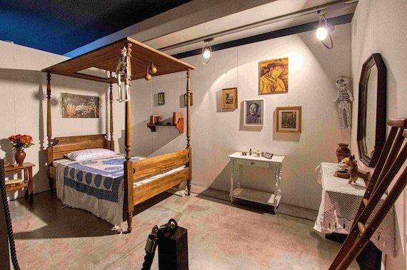 Frida Khalo_Camera da letto